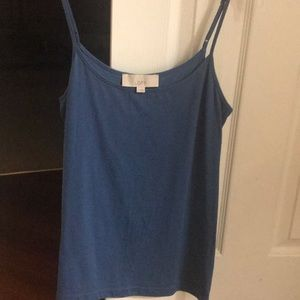 Loft blue cami/tank top